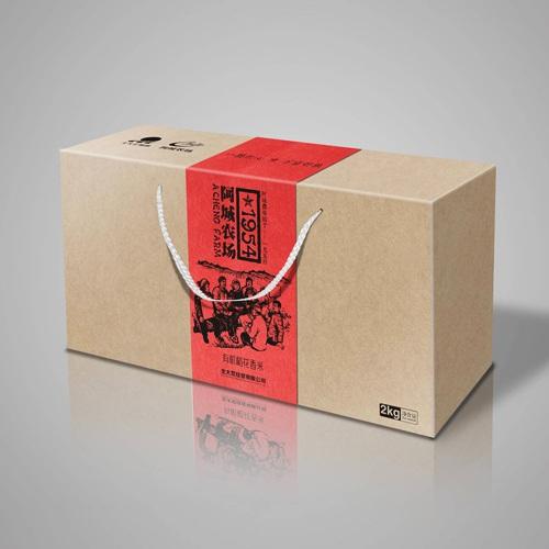 食品包装亿博国际app下载-阿城农场有机稻花香米包装亿博国际app下载|大米小米特色农产品土特产包装亿博国际app下载效果图