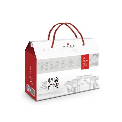 食品包装亿博国际app下载-广安土特产礼品包装亿博国际app下载方案_特产礼品盒包装袋统一视觉形象亿博国际app下载