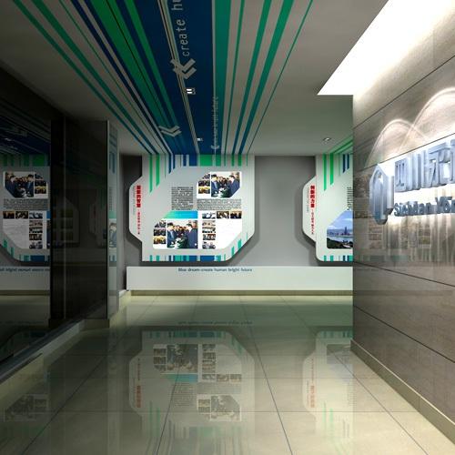 企业展厅-四川永祥多晶硅有限公司展厅亿博国际app下载施工一体化