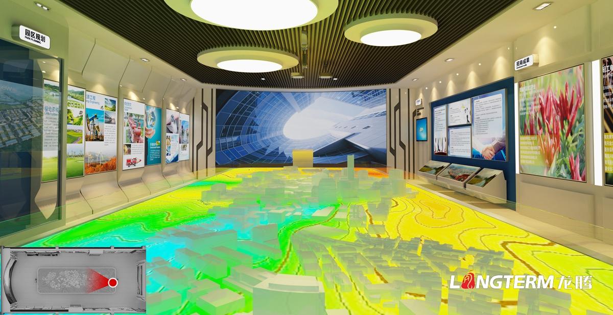 蓬安工业园区展示厅亿博国际app下载_园区文化建设及企业展示厅亿博国际app下载