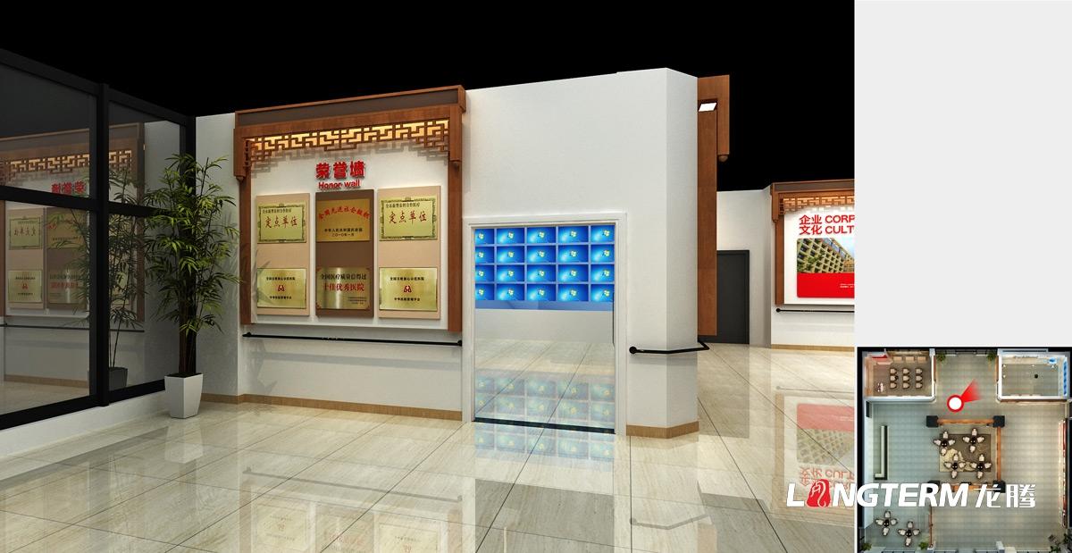 华孝大德疗养院展厅及文化亿博国际app下载_养老机构大厅及孝文化展示亿博国际app下载