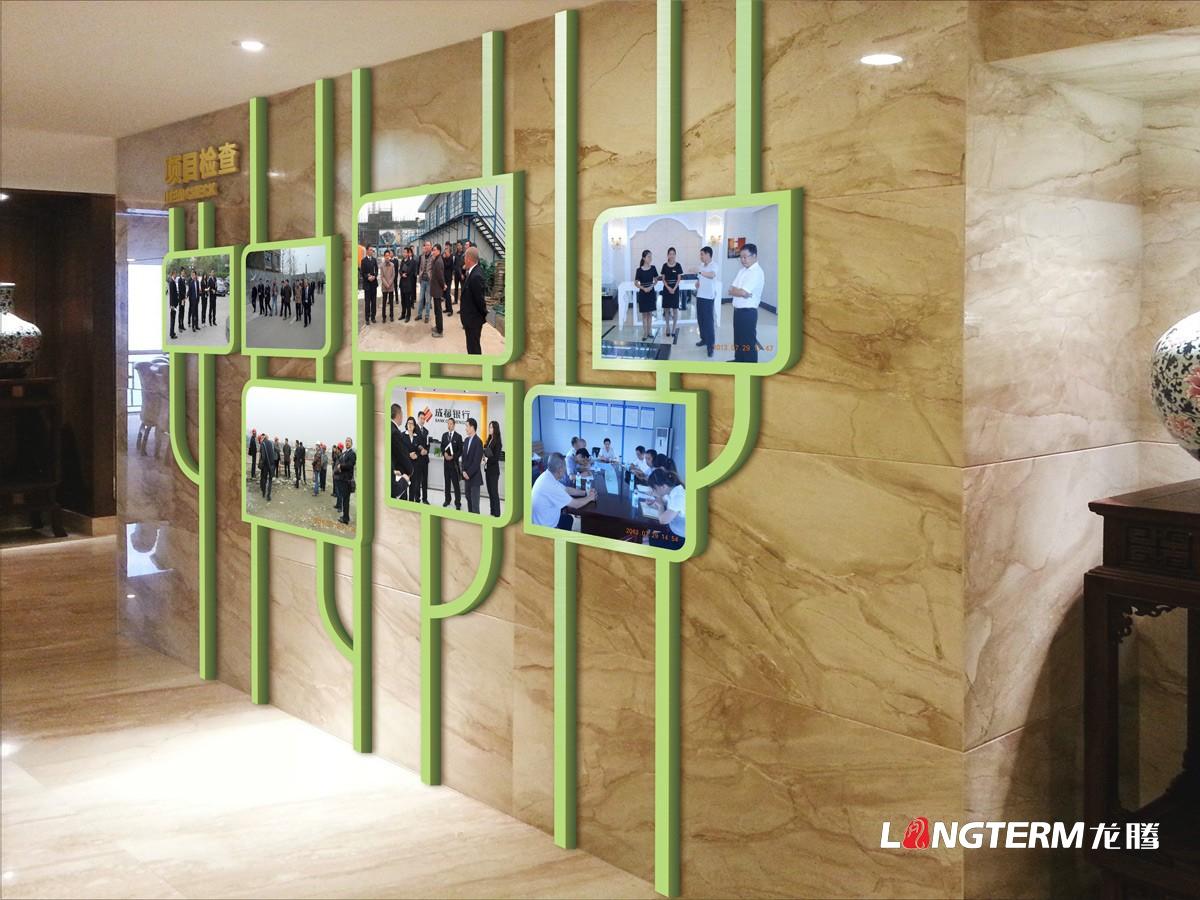 德昆集团文化墙亿博国际app下载_房地产公司企业文化上墙及文化建设