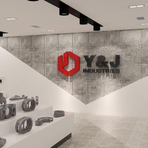 企业展厅-四川优机实业股份有限公司展厅亿博国际app下载及施工