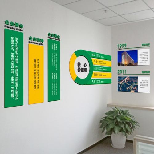 企业文化-首发投资控股公司西南分公司文化墙亿博国际app下载