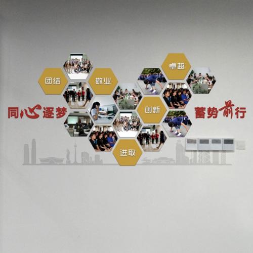 企业文化-四川融策会计师事务所文化墙亿博国际app下载