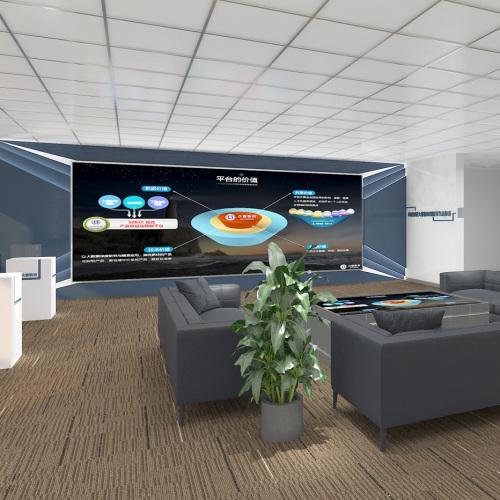 企业展厅-四川众智联邦财税金融大数据企业展厅亿博国际app下载