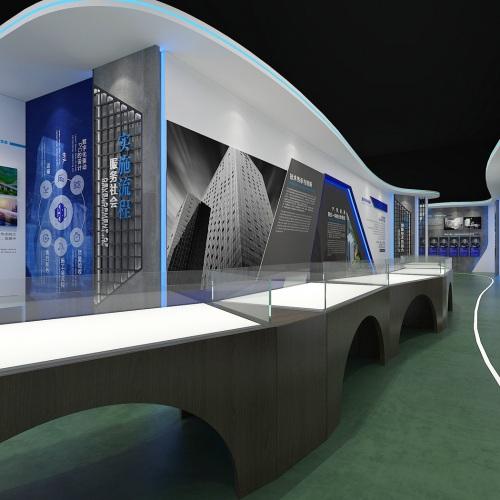 企业展厅-中冶交投善筑成都装配式建筑科技发展有限公司展示厅策划亿博国际app下载及施工装修