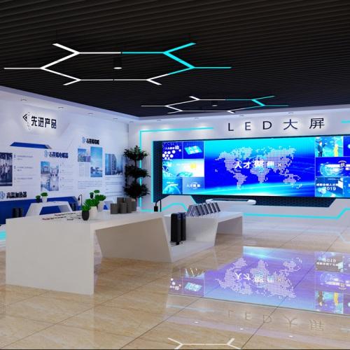 企业展厅-德阳烯碳科技有限公司展厅策划亿博国际app下载