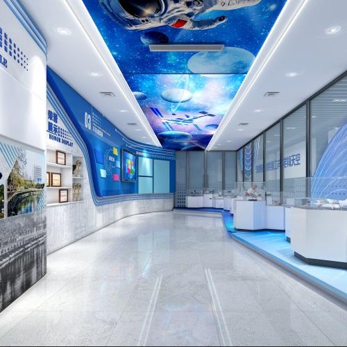 四川大学空天科学与工程学院成果展厅策划亿博国际app下载